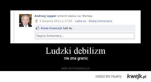 Andrzej Lepper is DEAD !