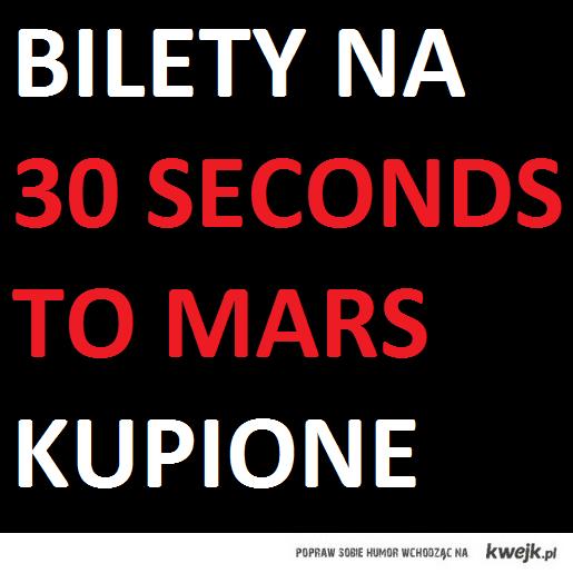 bilet 30 seconds to mars