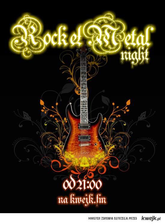 Wieczór Rock / Metal w Kwejk FM !