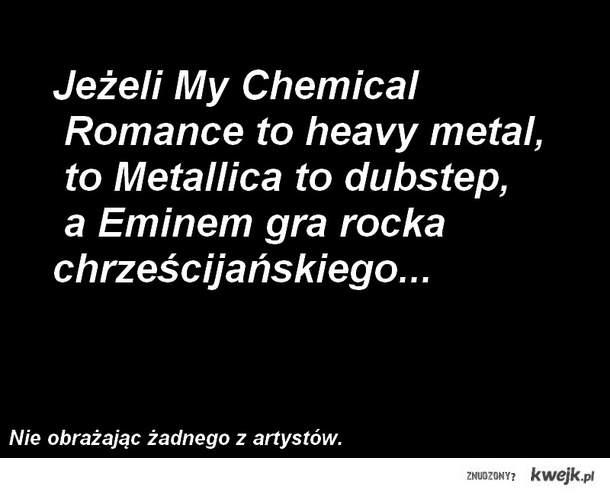 nie mylcie stylów muzyki!