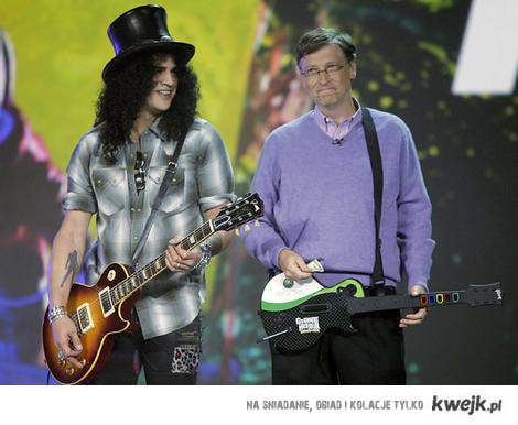 Slash & Bill Gates