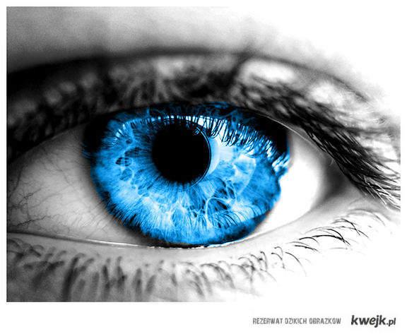 Oczy Niebieskie są zajebistee ! :*