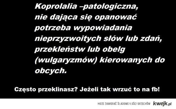 Koprolalia