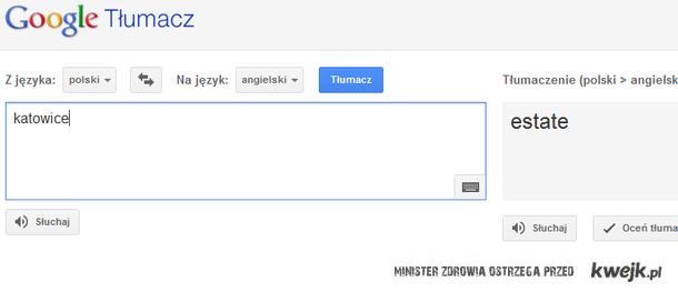 Tłumaczenie Katowic