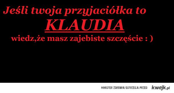 Przyjaciółka Klaudia