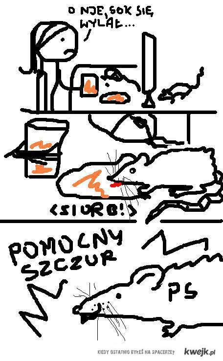 Pomocny Szczur