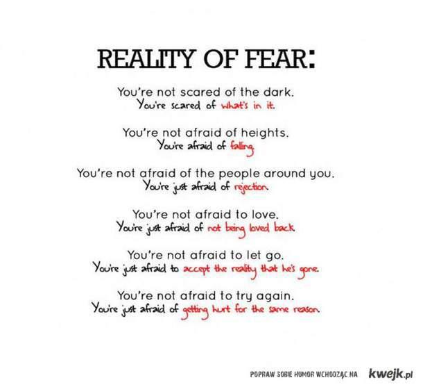 prawda o strachu