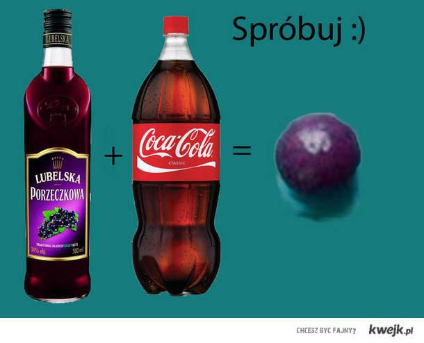 Skittlesowa (fiolet) wodka. Przepis