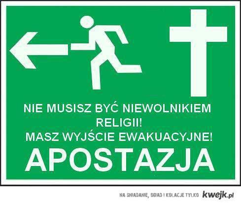 APOSTAZJA!