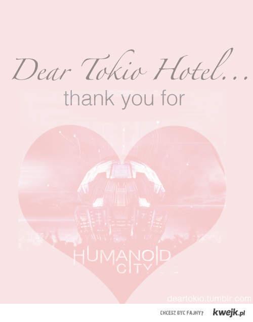 Dear Tokio Hotel