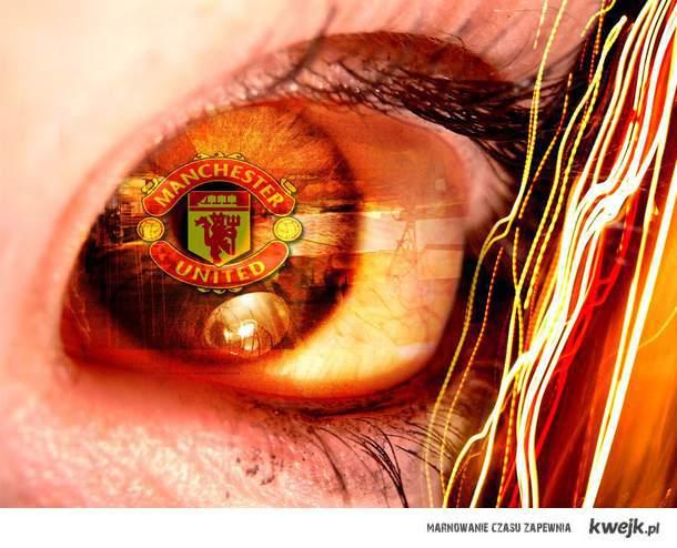 manchester Man Utd United heart oko eye
