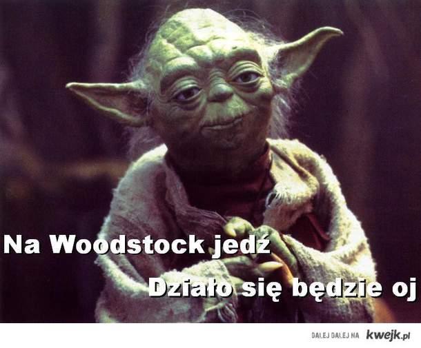 Yoda na Woodstocku