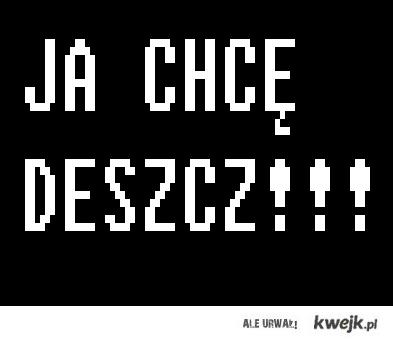 I LOVE DESZCZ