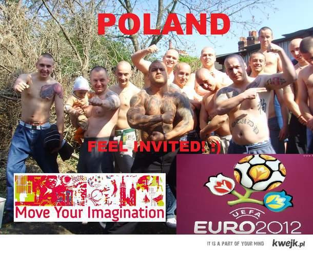POLAND FEEL INVITED