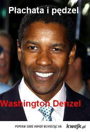 Płachat i pędzel Washington Denzel