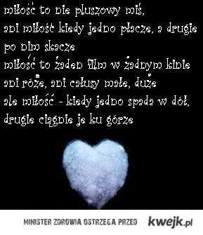 miłość to nie pluszowy miś
