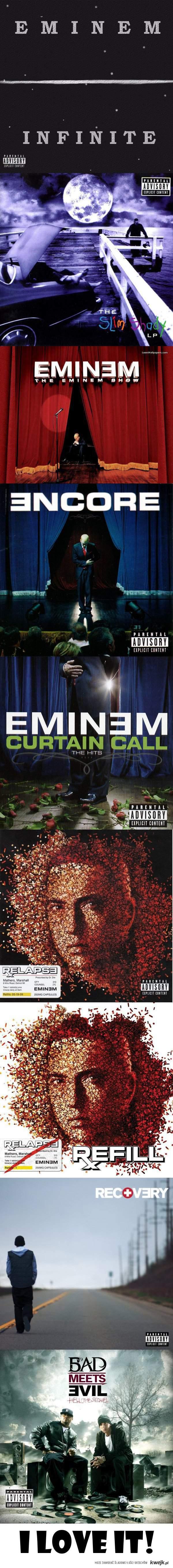 Eminem CD's