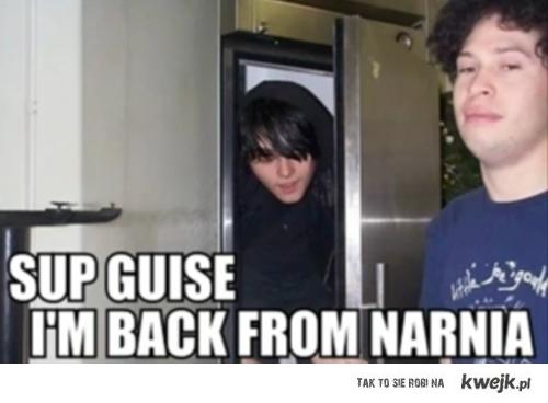 Gerard Way and Narnia