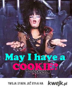 nikki sixx - may I have a  cookie?