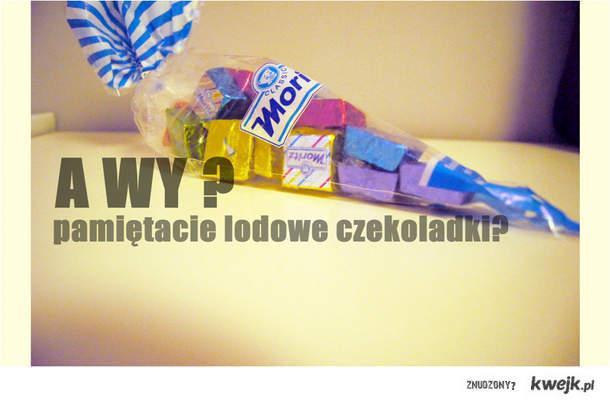 lodowe czekoladki