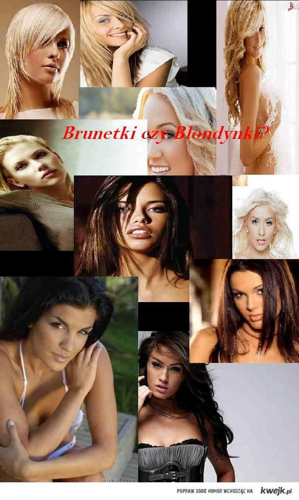 Brunetki czy Blondynki? (Proszę o łaskawość, to moj pierwszy obrazek :) )