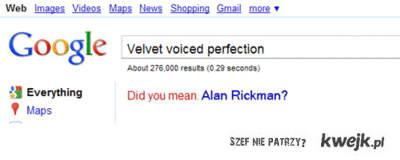 głos Alan Rickman