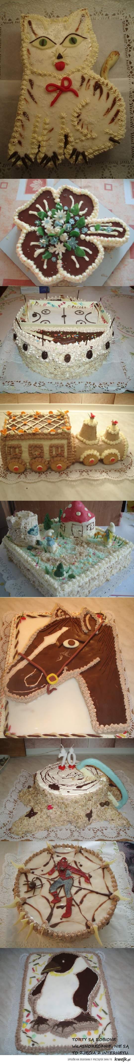 dzieła mojej cioci :)