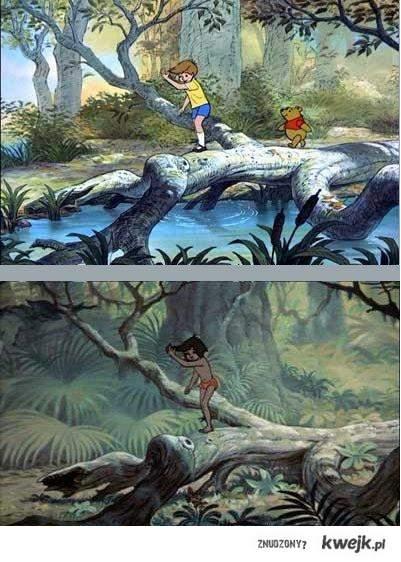 Similarities of Disney