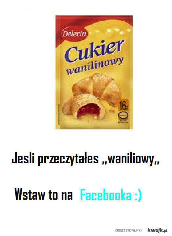 Cukier Wanilinowy :D