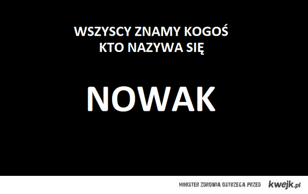 Nowak ; D