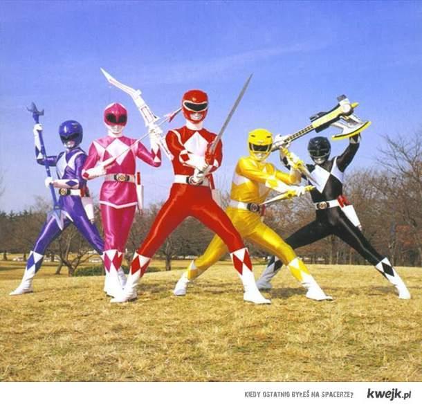 Power Rangers!! A ty którym byłeś?