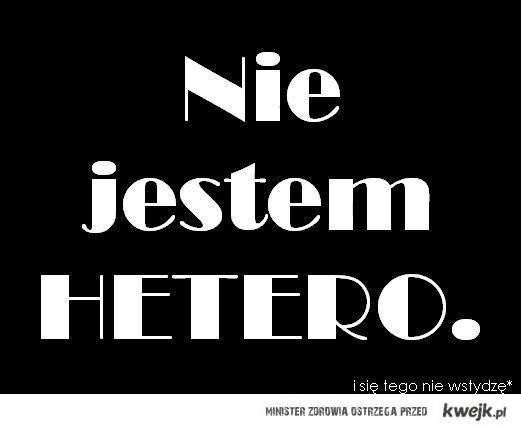 Nie jestem hetero
