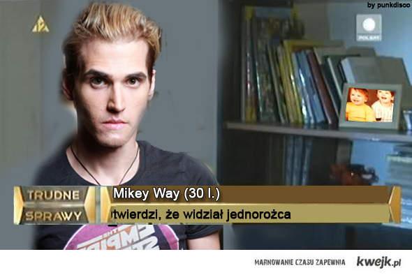 Mikey Way - trudna sprawa