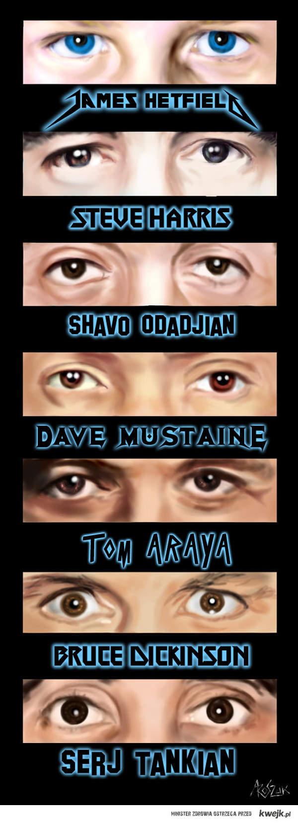 Heavy Metal Eyes