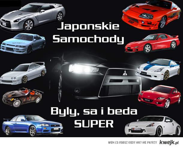 Japońskie samochody