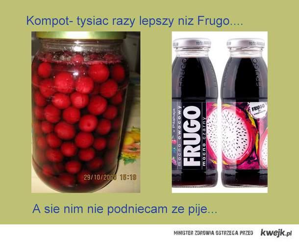 Kompot vs Frugo
