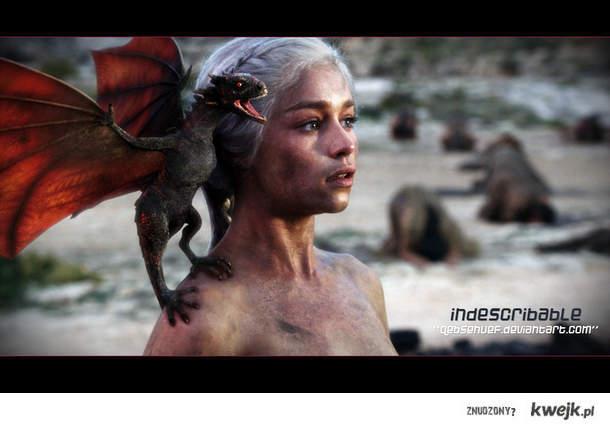 Daenarys i Drogon