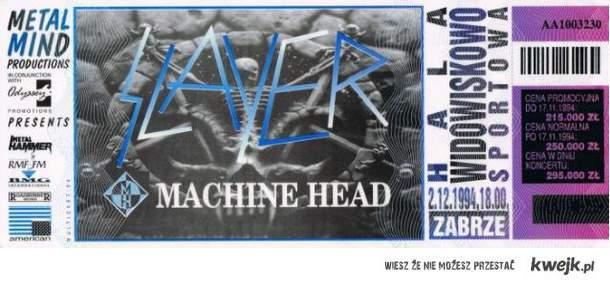 Slayer w Zabrzu 1994