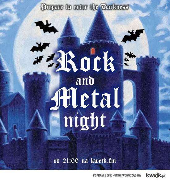 Wieczór Rock / Metal w Kwejk FM !!!