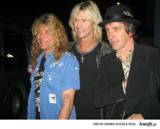 Steven,Duff and Izzy