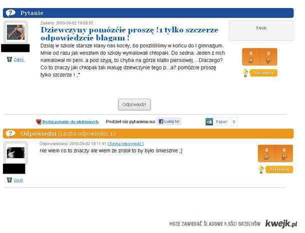 zapytaj.com.pl problem xd