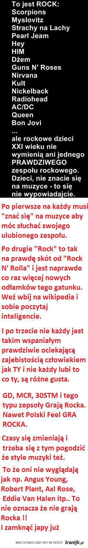 znawcy rocka