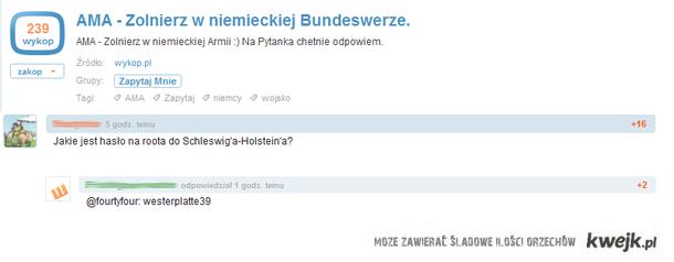 Pytanie do Polaka w Bundeswehrze
