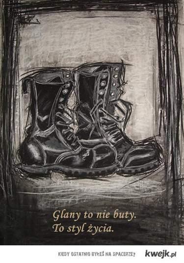 Glany to nie buty. To styl życia.