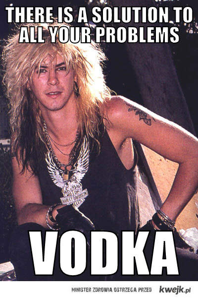 Duff McKagan & Vodka
