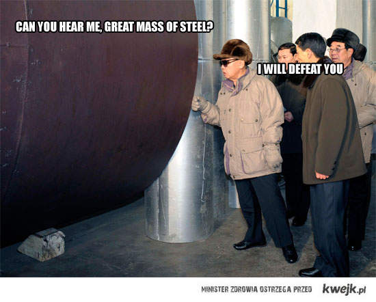 great mass of steel