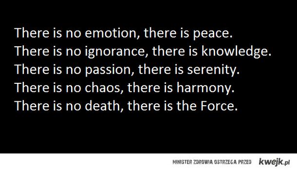 The Jedi Code