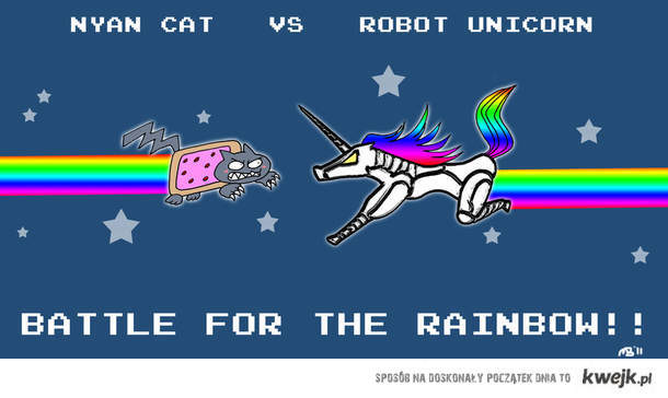 nyan vs unicorn