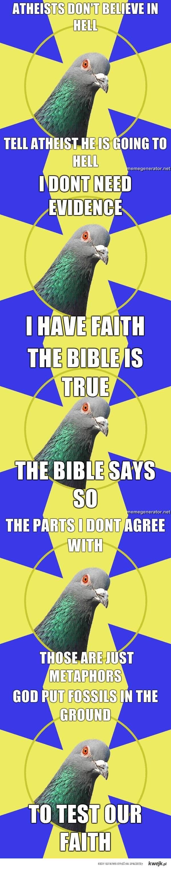Religion Pidgeon
