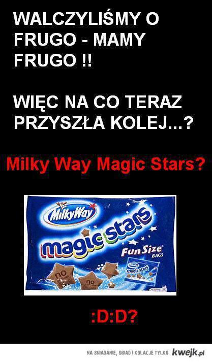 gwiazdki milky way
